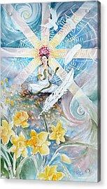 Goddess Awakened Acrylic Print