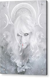 Goddess Acrylic Print by Cambion Art