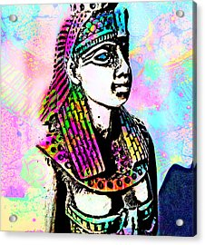 Goddess Acrylic Print by Ellie Michael