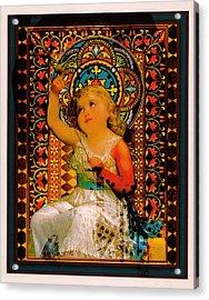 Goddess In Training Acrylic Print by Janiece Senn