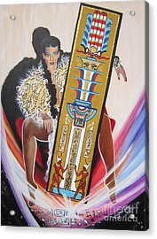 The  Tet Of Osiris Fra Blaa  Kattproduksjoner  Acrylic Print
