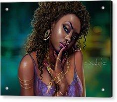 Goddess Kali Acrylic Print