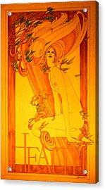 Goddess Of Health Acrylic Print by Gary Kaemmer