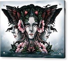 Goddess Of Magic Acrylic Print