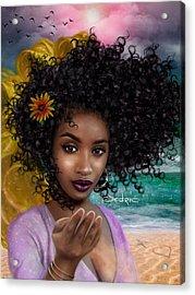 Goddess Oshun Acrylic Print
