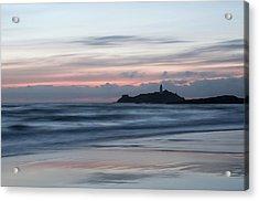 Godrevy Lighthouse From The Beach Acrylic Print