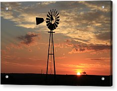 God's Country At Sunrise Acrylic Print
