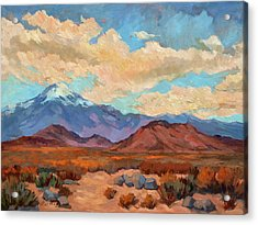 God's Creation Mt. San Gorgonio  Acrylic Print by Diane McClary