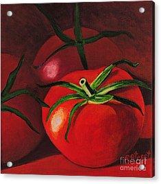 God's Kitchen Series No 3 Tomato Acrylic Print