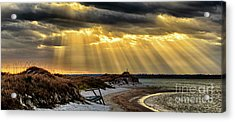 God's Light Acrylic Print