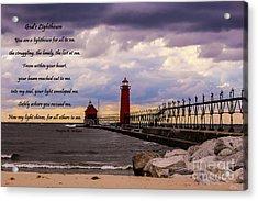 God's Lighthouse Acrylic Print