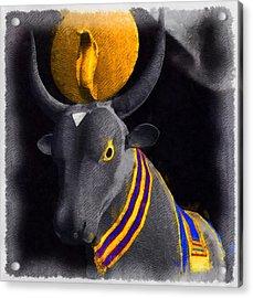 Gods Of Egypt - Apis Acrylic Print by Raphael Terra