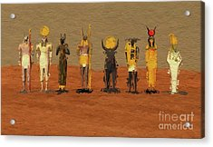 Gods Of Egypt By Mb Acrylic Print