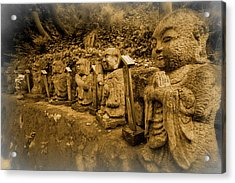 Acrylic Print featuring the photograph Gods Of Japan by Daniel Hagerman