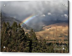 Acrylic Print featuring the photograph Gods Promise  by Robert Pearson