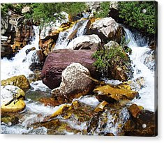God's Water Acrylic Print by Norman Kraatz