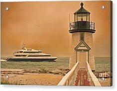 Godspeed At Brant Point Nantucket Island Acrylic Print