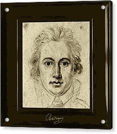Goethe Acrylic Print by Asok Mukhopadhyay