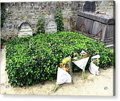Gogh Brothers' Graves By Taikan Acrylic Print
