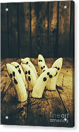 Going Bananas Over Halloween Acrylic Print by Jorgo Photography - Wall Art Gallery