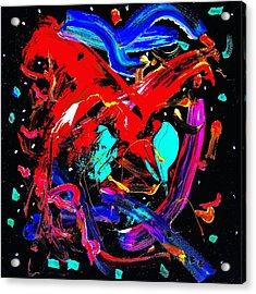 Living Heart Acrylic Print