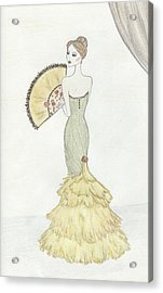 Going To The Ball Acrylic Print by Christine Corretti