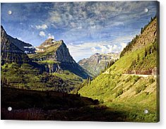 Going To The Sun 2 Acrylic Print by Marty Koch