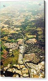 Gold Coast Aerial Photograph Acrylic Print by Jorgo Photography - Wall Art Gallery