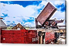 Gold Country Acrylic Print by Dennis Wagner