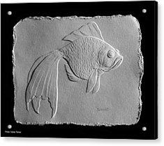 Gold Fish 1 Acrylic Print by Suhas Tavkar