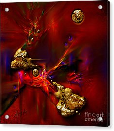 Gold Foundry Acrylic Print