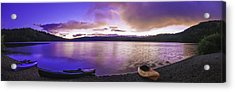 Acrylic Print featuring the photograph Gold Lake Pano by Sherri Meyer