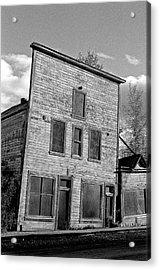 Gold Rush Saloon - Dawson City Acrylic Print by Juergen Weiss