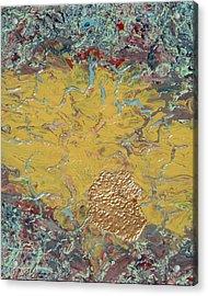 Gold Spot Acrylic Print