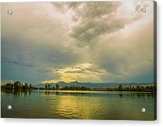 Acrylic Print featuring the photograph Golden Afternoon by James BO Insogna