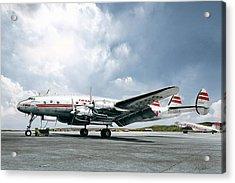 Golden Age Aviation - Lockheed Constellation Acrylic Print