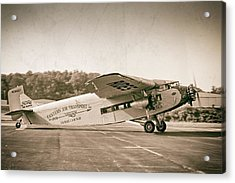 Golden Age Trimotor Acrylic Print