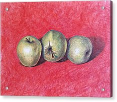 Golden Delicious Acrylic Print