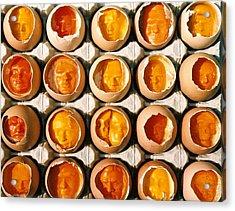 Golden Eggs 2 Acrylic Print by Mark Cawood
