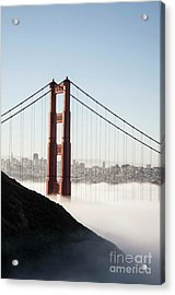 Acrylic Print featuring the photograph Golden Gate And Marin Highlands by David Bearden