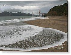 Golden Gate Study #3 Acrylic Print