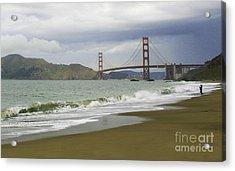 Golden Gate Bridge #4 Acrylic Print
