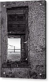 Golden Gate Bridge From Alcatraz Acrylic Print by Mike Burgquist