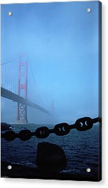 Golden Gate Bridge From Fort Point Acrylic Print