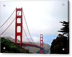 Golden Gate Bridge Full View Acrylic Print