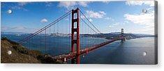 Golden Gate Bridge Viewed From Hendrik Acrylic Print