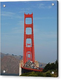 Golden Gate Head On Acrylic Print