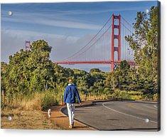 Golden Gate II Acrylic Print
