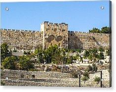 Golden Gate Jerusalem Israel Acrylic Print