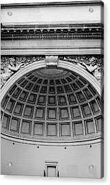 Golden Gate Music Concourse- Art By Linda Woods Acrylic Print